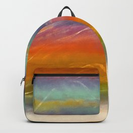 Beautiful Mountains Abstract Landscape 16 Backpack