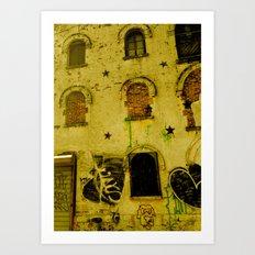 Urban Gold  Art Print
