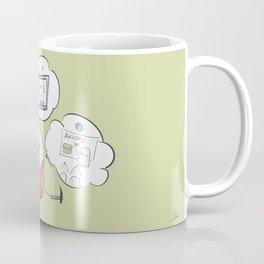 be curious  Coffee Mug