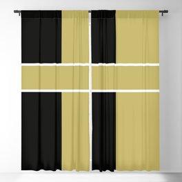 Team Color 6...black,gold Blackout Curtain