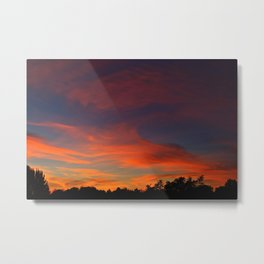 The Sunrise of Dreams Metal Print