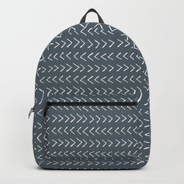 Arrows on Fiord Blue Backpack