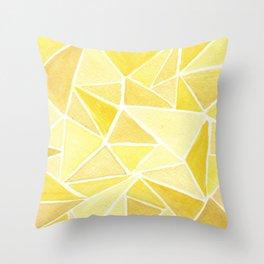 #37. ASHLEY - Triangles Throw Pillow