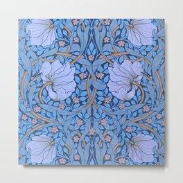 """William Morris """"Pimpernel"""" 7. Metal Print"""