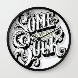 some people suck Wall Clock