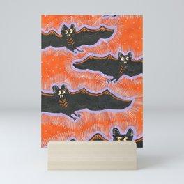 Batty Flight Mini Art Print