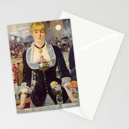 Edouard Manet - Bar w Folies Bergere Stationery Cards