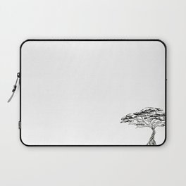 Whistling Thorn , Zen Bonsai African Tree Laptop Sleeve