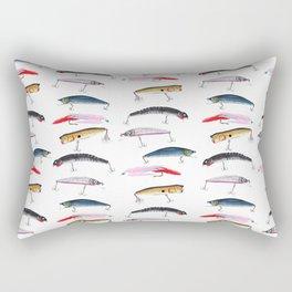 Fishing Lures Rectangular Pillow