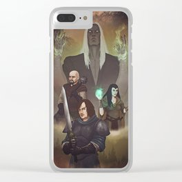 Dungeon Warriors Clear iPhone Case