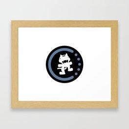 MonsterCat logo  Framed Art Print