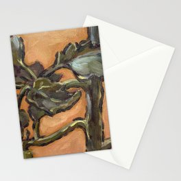 tomato seedling Stationery Cards