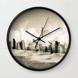 The Cruel Sea Wall Clock