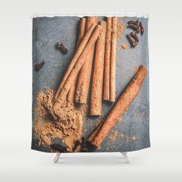 Cinnamon and anise art #food #stilllife Shower Curtain