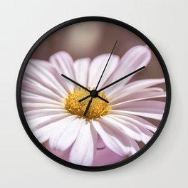 Single Daisy Wall Clock