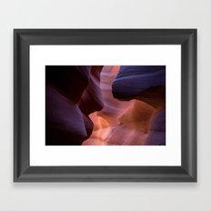 Lower Antelope Framed Art Print