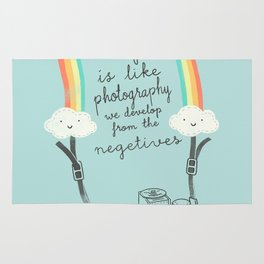Life is like Photography Rug