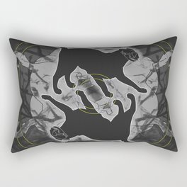Mortality Rectangular Pillow