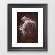 DARK LION #2 Framed Art Print