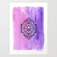 Geometric Prism 1 Art Print