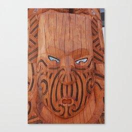 Tiki Tiki Canvas Print