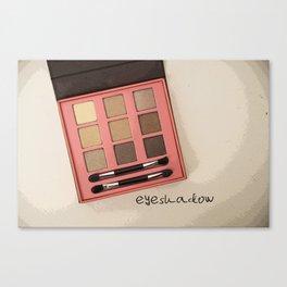 Eyeshadow Canvas Print