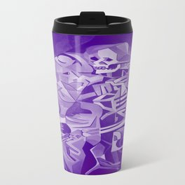 Halloween Skeleton Welcoming The Undead Travel Mug