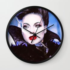 Evil Regal Wall Clock
