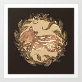 Living Fossil Art Print