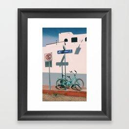 The Corner of Cabo Framed Art Print