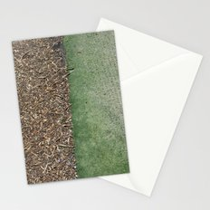 Grass and Mulch Stationery Cards