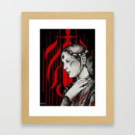 Tranquil mage Framed Art Print