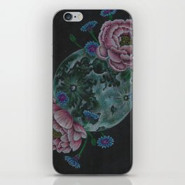 Flower Full Moon (May) iPhone Skin