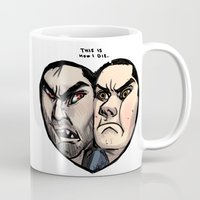 sterek Mugs featuring Sterek by lolbatty