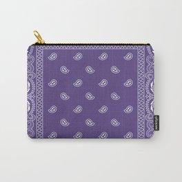 Bandana - Southwestern - Ultra Violet Carry-All Pouch