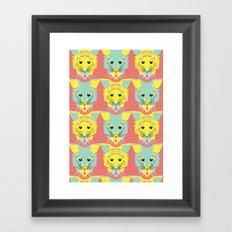 Litter of Kittens Framed Art Print