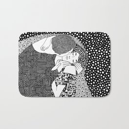 Gustav Klimt - The kiss Bath Mat