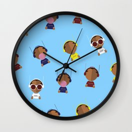 Mr. Loompa Wall Clock