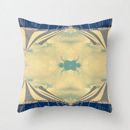 Kaleido-circus Throw Pillow