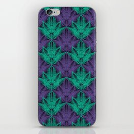 UV Jungle #society6 #ultraviolet #pattern iPhone Skin