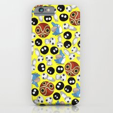 Ghibli Pattern Slim Case iPhone 6s