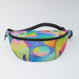 Rainbow Pussies Fanny Pack