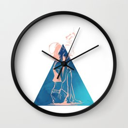 Living The Afterlife Wall Clock