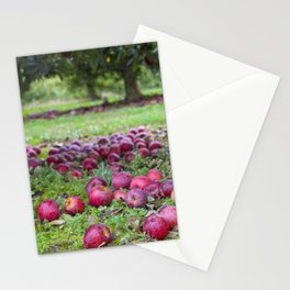 Let's pick apples Stationery Cards