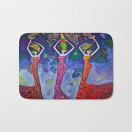 Three Graces Of Tasting Bath Mat