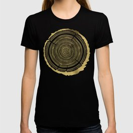 Douglas Fir – Gold Tree Rings T-shirt