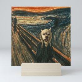 "Mariah in ""The Scream"" Mini Art Print"