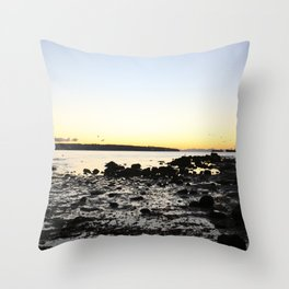 Sunset from Stanley Park Throw Pillow