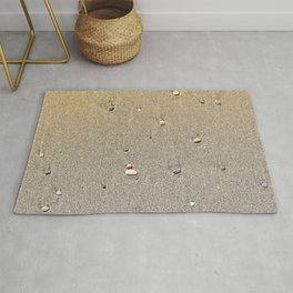 Stones on the Sand Rug