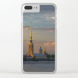 Peter Paul Fortress Clear iPhone Case